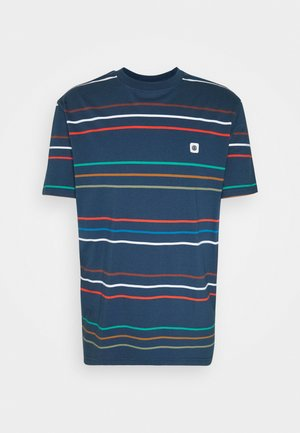 HOVDEN STRIPES - Print T-shirt - insignia blue