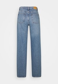 Monki - YOKO  - Flared Jeans - blue medium
