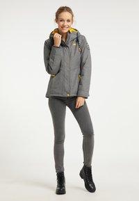 Schmuddelwedda - Winter jacket - dunkelgrau melange - 1