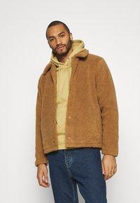 Topman - SHETLAND COACH - Winter jacket - rust - 0