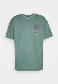 BDG Urban Outfitters - FORTUNE TEE UNSEX - Print T-shirt - green - 0