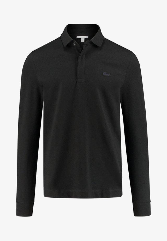 REGULAR FIT  - Polo - black