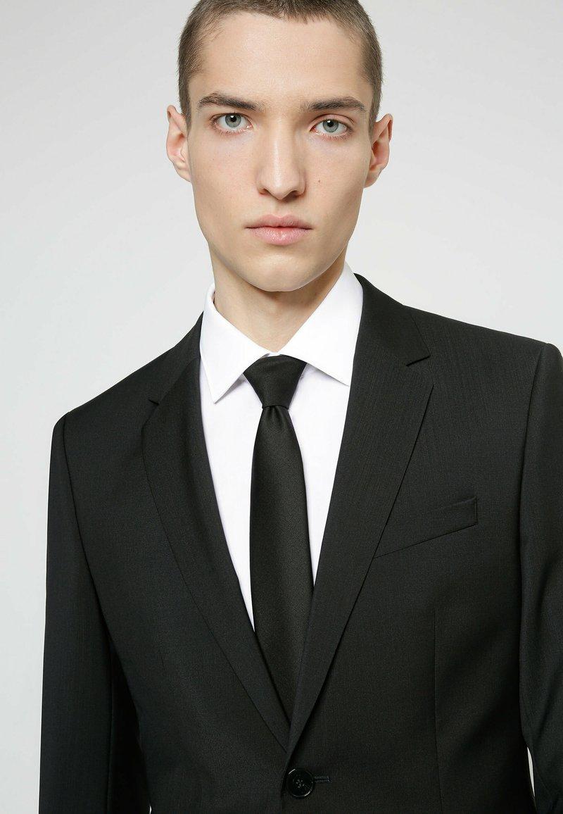 HUGO - Cravatta - black
