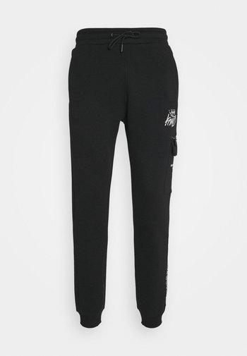 CARGO - Pantaloni sportivi - black