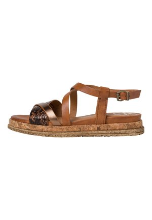 Sandals - cognac ant.com