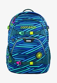 Coocazoo - SCALERALE - School bag - zebra stripe blue - 0
