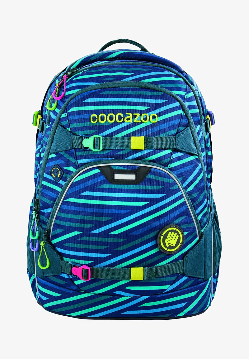 Coocazoo - SCALERALE - School bag - zebra stripe blue