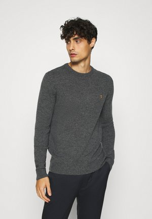 ROSECROFT - Stickad tröja - farah grey