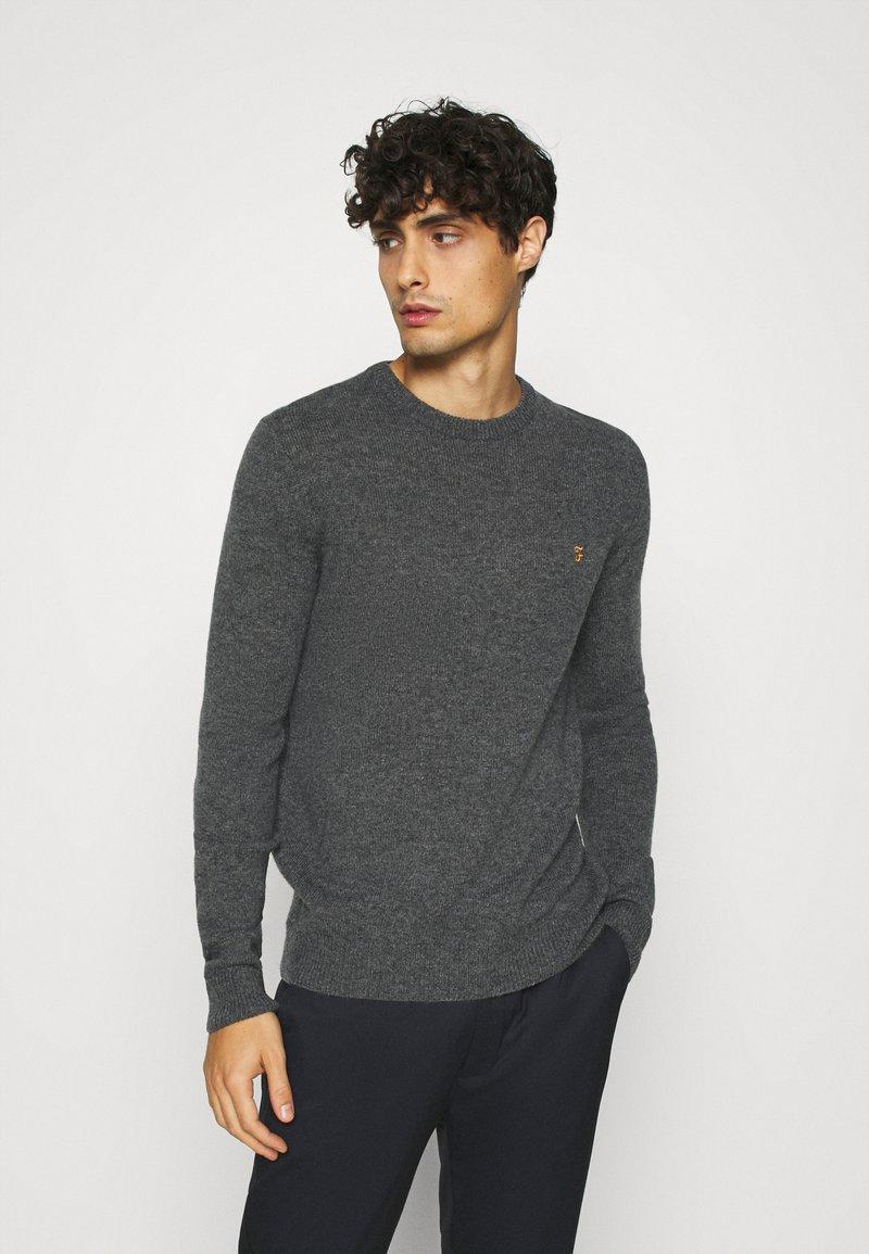 Farah - ROSECROFT - Stickad tröja - farah grey