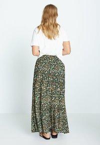 Violeta by Mango - SUMMER - A-line skirt - grün - 2