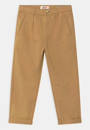LOOSE TAPERED FIT WORKER  - Trousers - sand