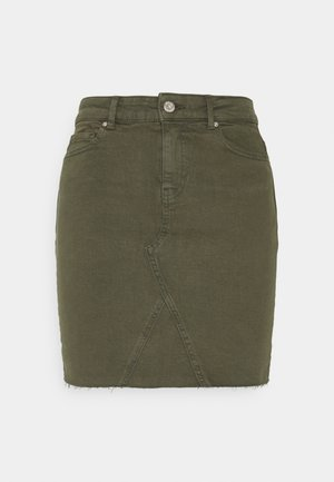 ONLFAN LIFE SKIRT  - Mini skirt - kalamata