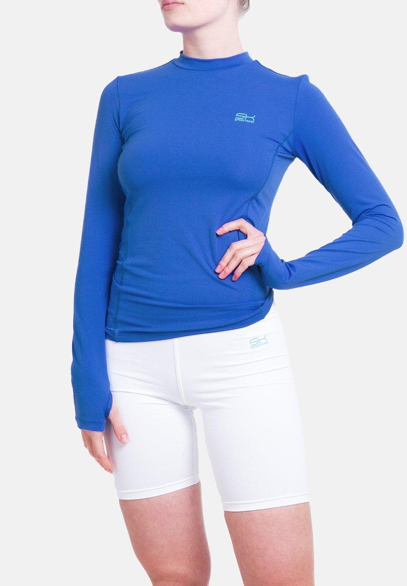 SPORTKIND - Sports shirt - kobaltblau