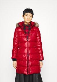 Calvin Klein - ESSENTIAL REAL COAT - Down coat - tango red - 0