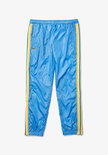 Tracksuit bottoms - blau / gelb / weiß / dunkelgrün