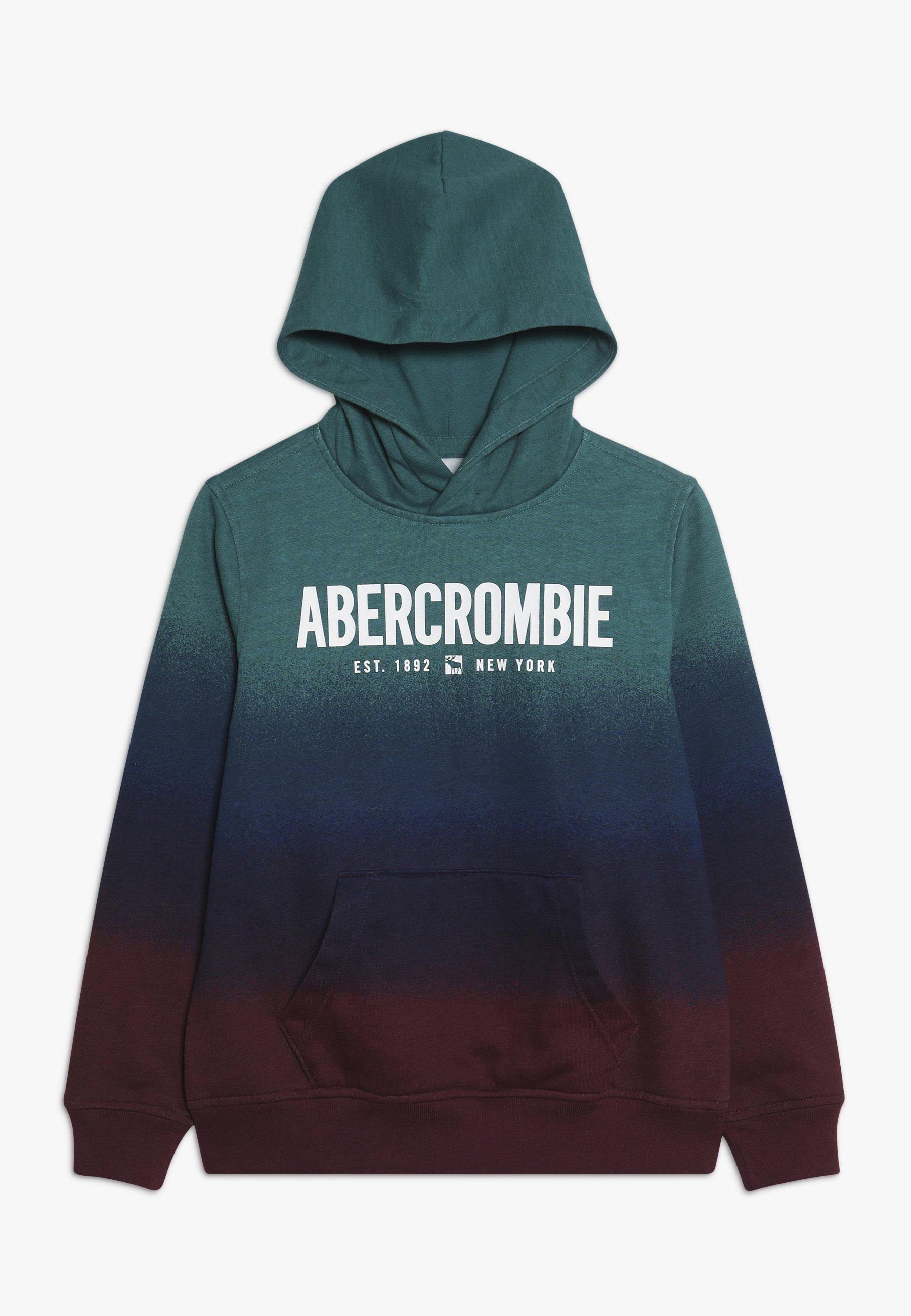 Große Förderung Abercrombie & Fitch LOGO - Kapuzenpullover - multi color dip dye | Damenbekleidung 2020