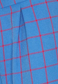 Vintage Supply - WIDE LEG CHECKED TROUSER - Pantalon classique - blue - 2