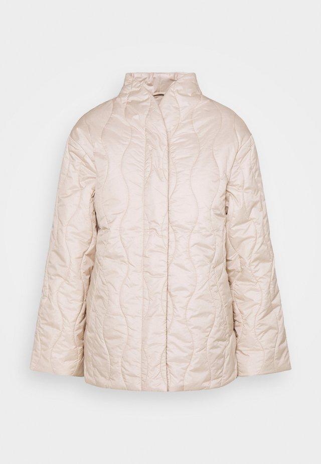 COAT ANNA - Klasický kabát - light beige