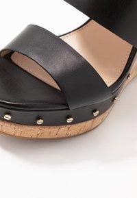 ALDO - LOVIESIEN - Heeled mules - black - 2
