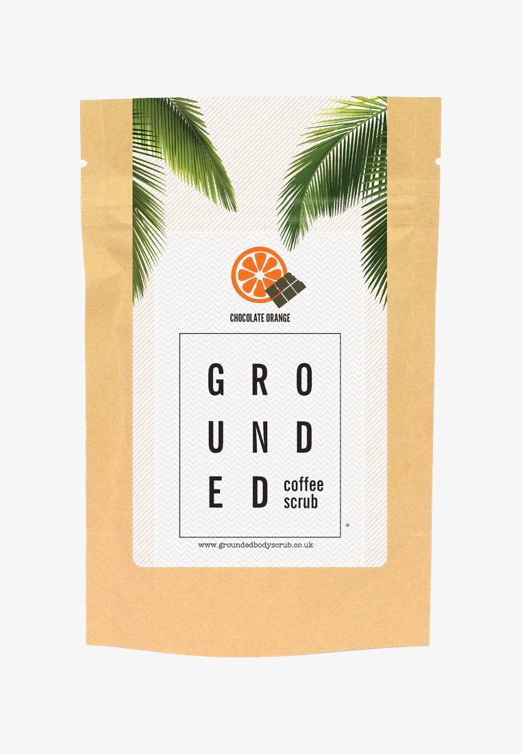 Grounded - BODY SCRUB 100G - Body scrub - chocolate orange