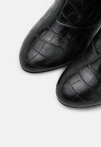 Anna Field - Vysoká obuv - black - 5