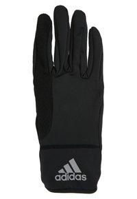 adidas Performance - GLOVES - Gloves - black/black/reflective silver - 3