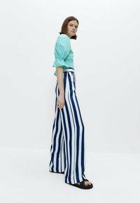 Uterqüe - Trousers - blue - 3