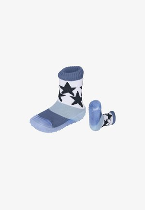ADVENTURE-SOCKS STERNE - Slippers - tintenblau meliert