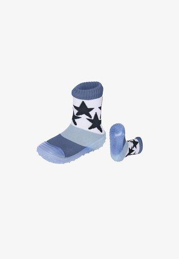 ADVENTURE-SOCKS STERNE - Slippers - tintenblau meliert
