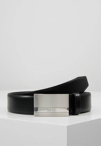 BAXTON - Belt business - black