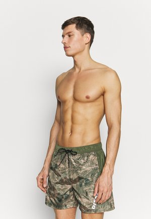 BMOWT-DORSAL SHORTS - Swimming shorts - green
