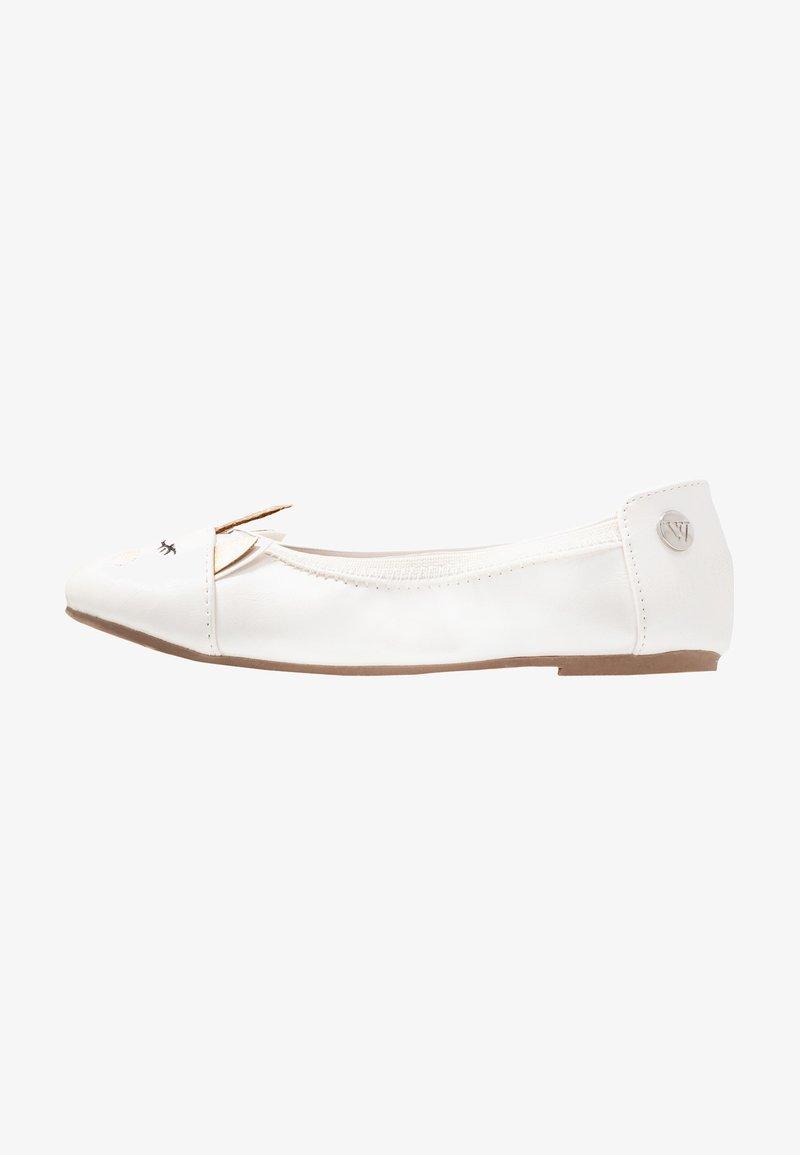 Walnut - CATIE UNICORN - Ballet pumps - pearl