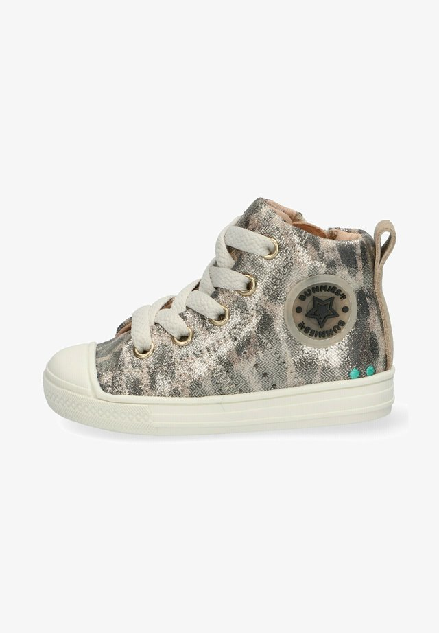 FRANS FERM  - High-top trainers - gold