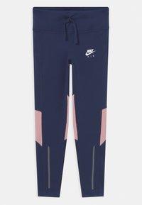Nike Performance - AIR - Medias - midnight navy/pink glaze/white - 0