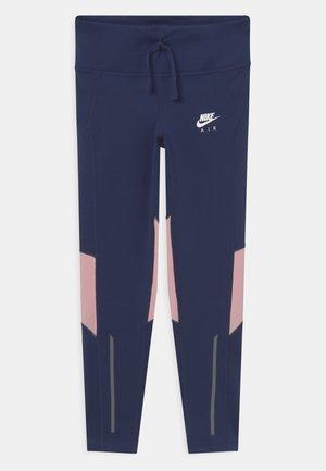 AIR - Legging - midnight navy/pink glaze/white
