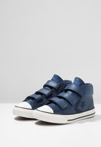 Converse - STAR PLAYER ASTEROID MID - Sneakers high - navy/obsidian/blue - 3