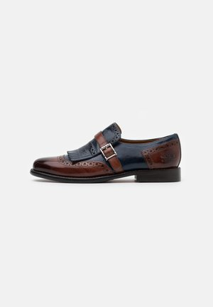 SELINA - Instappers - classic brown/navy
