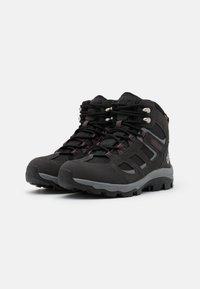 Jack Wolfskin - VOJO 3 TEXAPORE MID - Hiking shoes - dark steel/purple - 1
