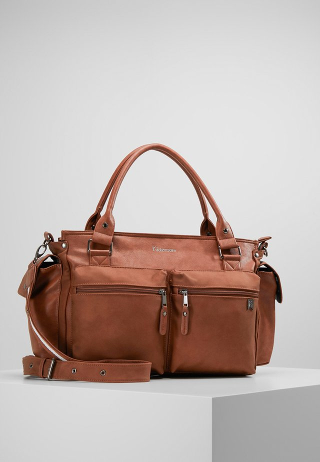 Baby changing bag - brown