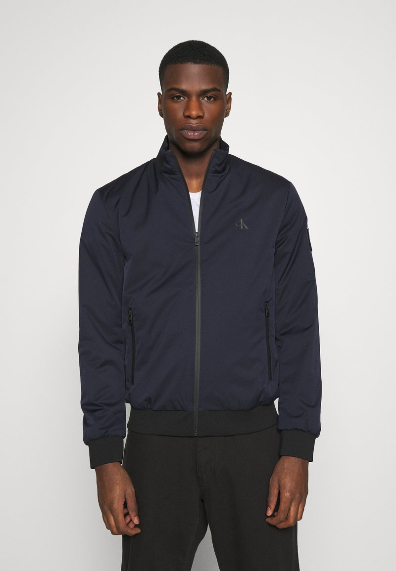 Calvin Klein Jeans - ZIP UP HARRINGTON - Bomber Jacket - night sky