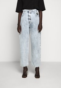 MM6 Maison Margiela - WIDE LEG  - Džíny Relaxed Fit - blue - 0