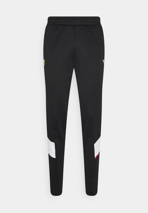 FERRARI RACE TRACK PANTS - Tracksuit bottoms - black