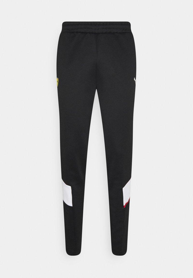 Puma - FERRARI RACE TRACK PANTS - Pantaloni sportivi - black