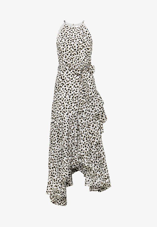 Korte jurk - leopard spot
