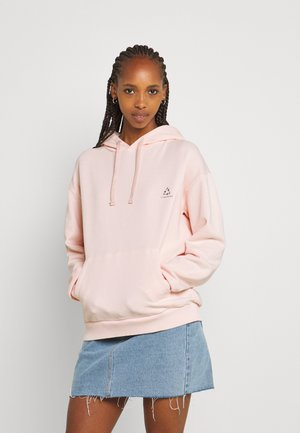 CHROMA CAPSULE FRONT POCKET HOODIE - Sweatshirt - light pink