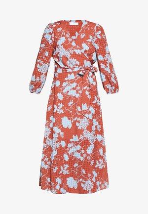 HARLOW FLOWY - Day dress - cerulean blue