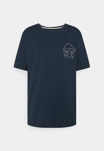 Print T-shirt - carbon