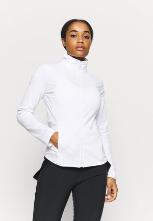 OUTRACK - Fleece jacket - white