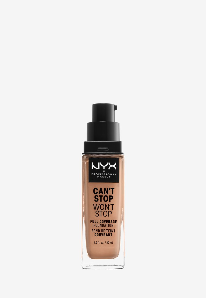Nyx Professional Makeup - CAN´T STOP WON´T STOP 24H FOUNDATION - Foundation - 43595 medium buff