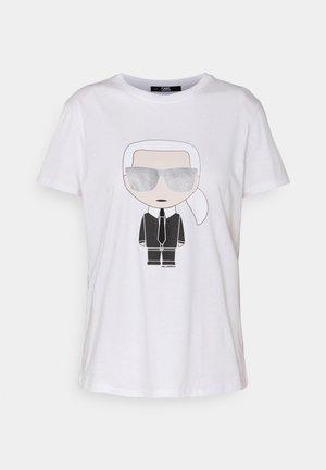 IKONIK  - T-shirts print - white